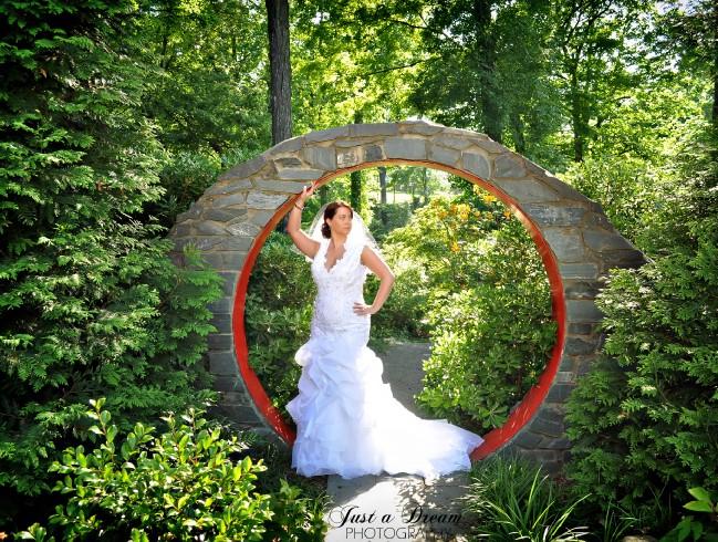 Eva: UNCC Gardens Bridal Photographers - Just a Dream Photography ...