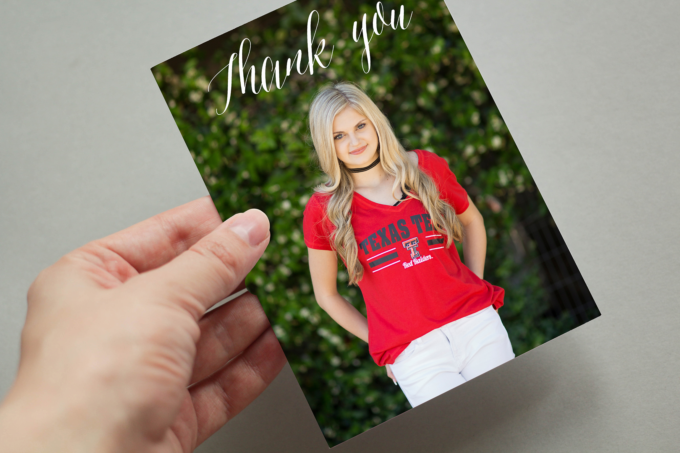 grad thank you note