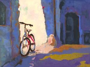 Karyn S. Dingledine's oil painting