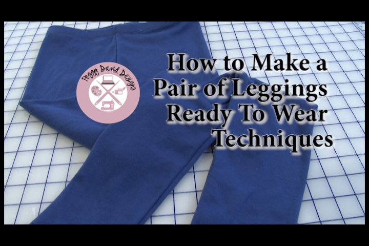See How quick and easy it is to make a pair of leggings