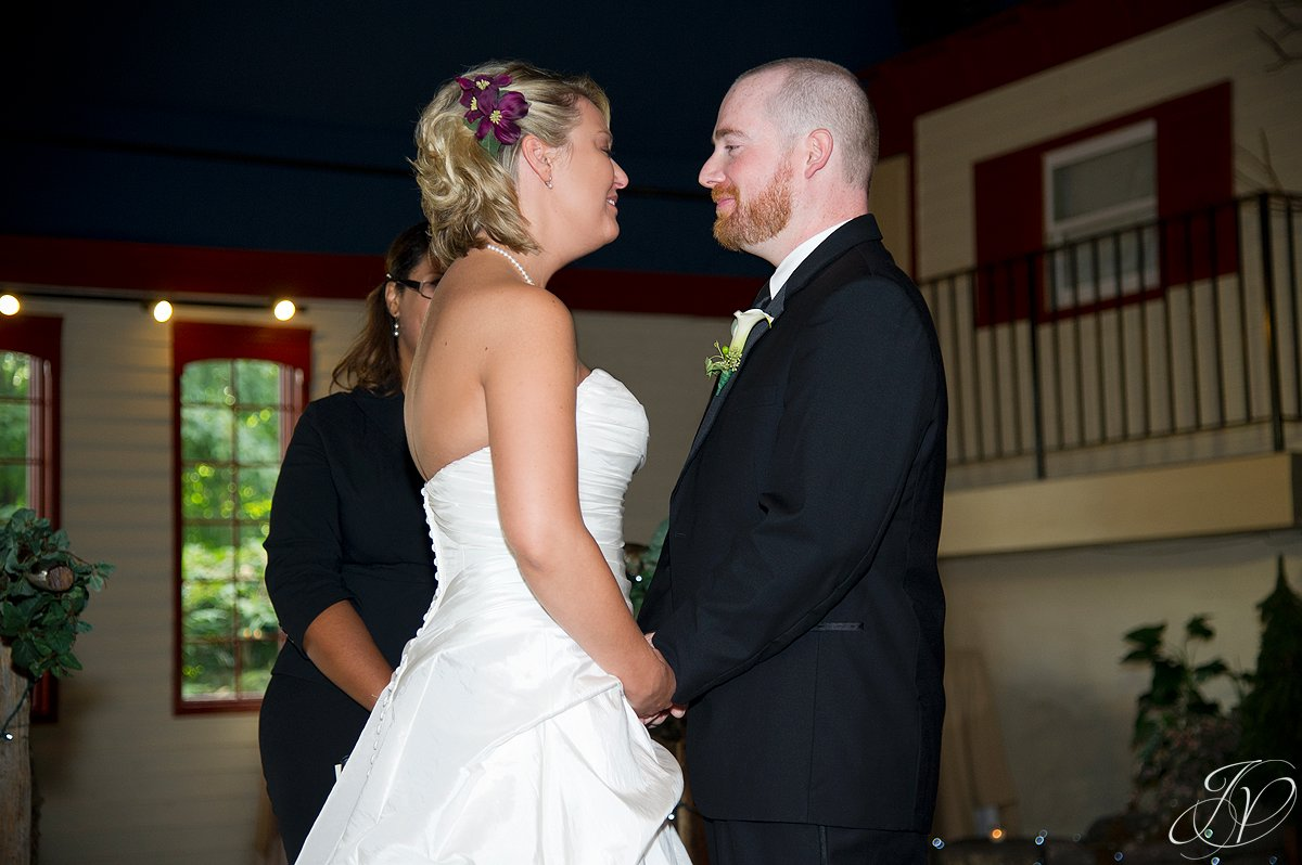 bride and groom photo, bride and groom at alter, first look photo, wedding photography, Saratoga Wedding Photographer, Longfellows