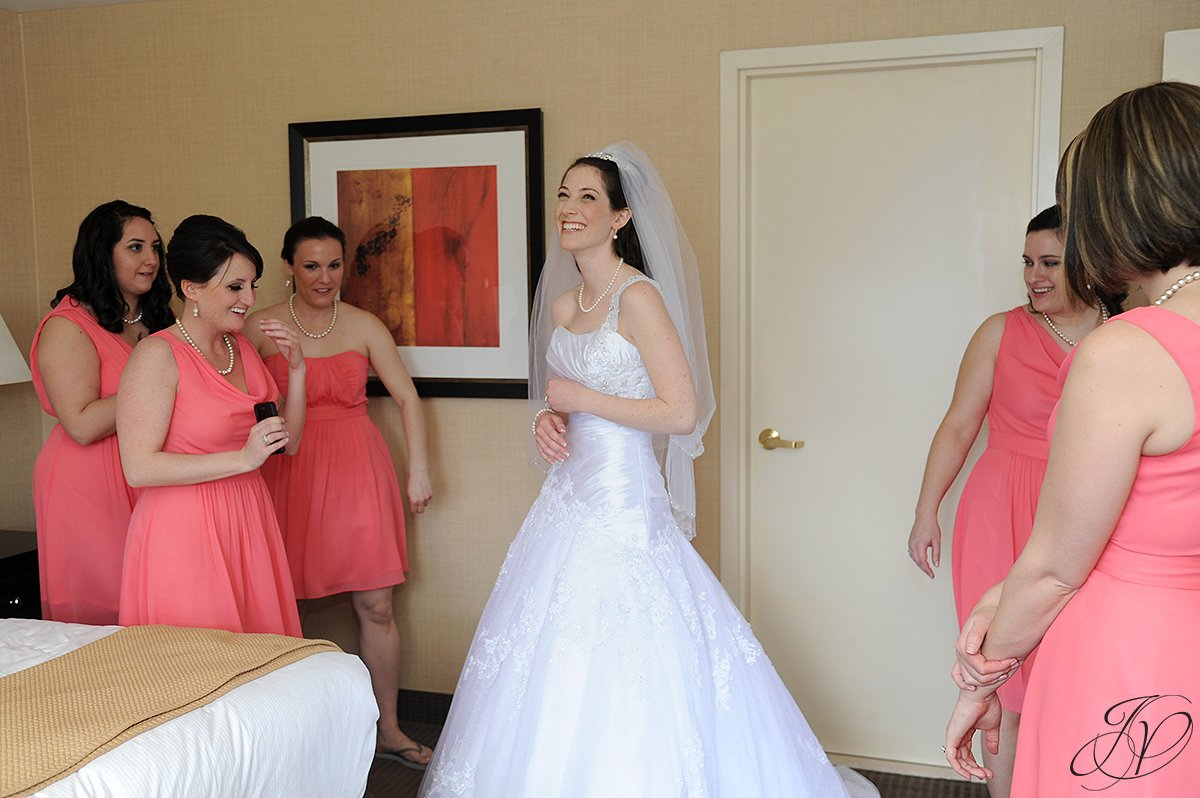 beautiful bride photo, bride and bridal party photo, Saratoga Wedding Photographer, The Canfield Casino wedding, wedding detail photo, pre wedding photos
