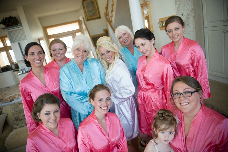Brides and their maids