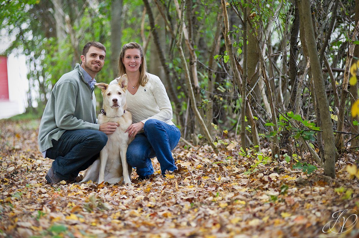 Saratoga Springs Engagement Photographer, Albany Engagement photography, Newly engaged photos, Portrait with pets