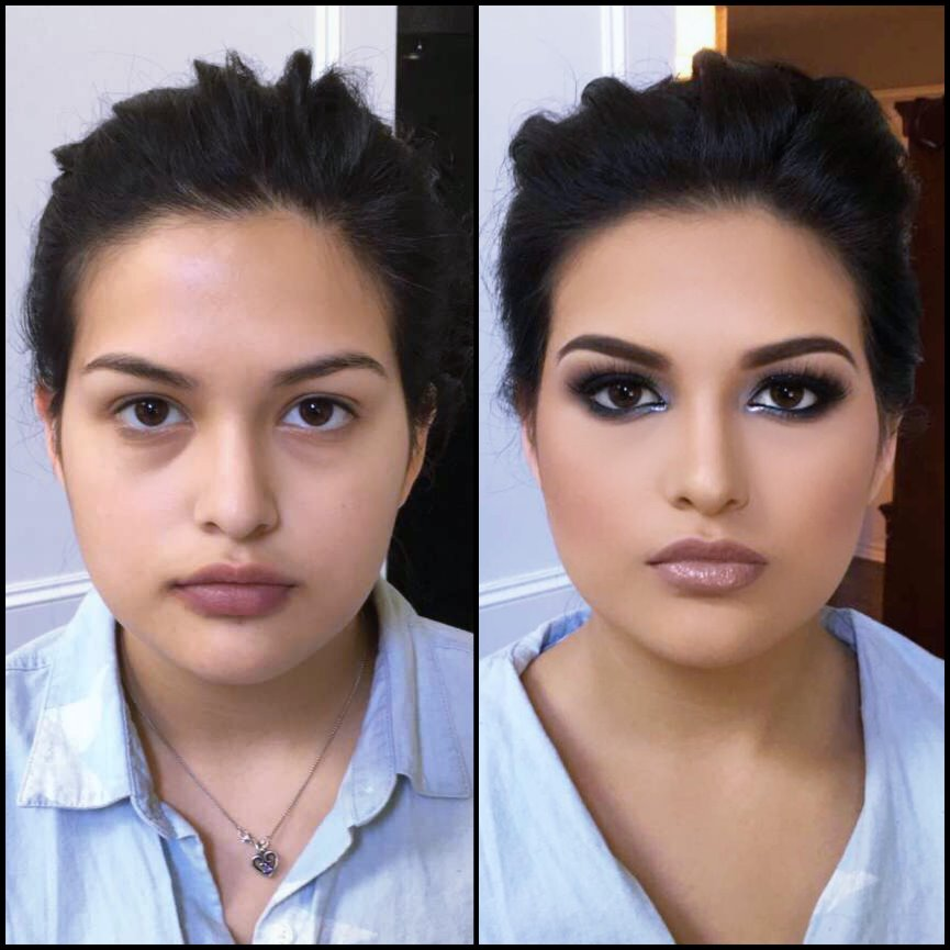 Airbrush Bridal Makeup Before And After : Airbrush Makeup Before And After Pictures - Mugeek Vidalondon