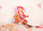 Cake Smash with Bella from Cobham