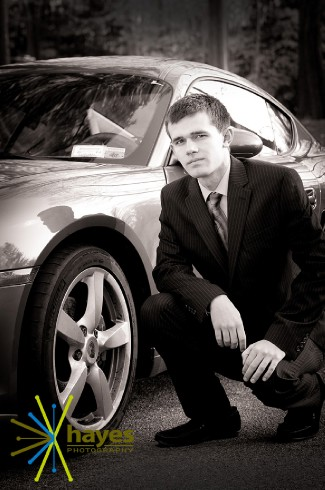 senior pictures, Webster photographer, porsche, Hayes Photography