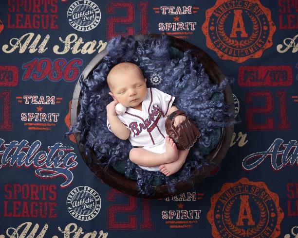 Adorable Woods - Sandy Springs Newborn Baby Photographer