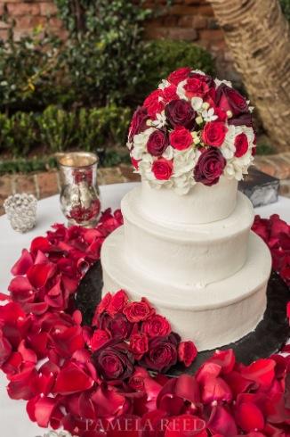New Orleans Wedding Photographer Wedding Cake Pamela Reed