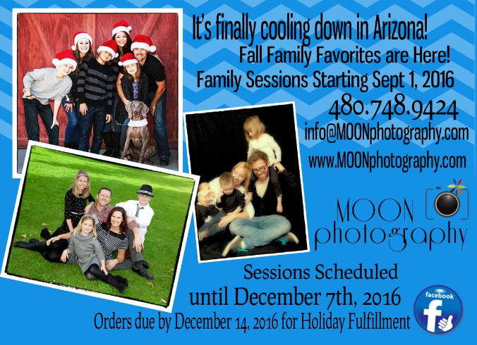 Family Session Information 2018-2019