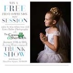 Win A First Communion Mini Session!
