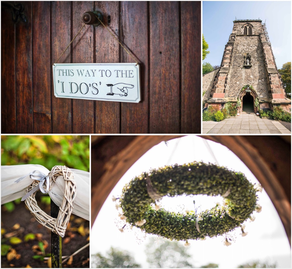 Ormskirk old church pictures with details