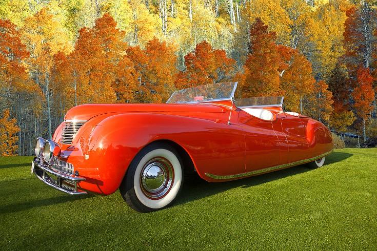 Classic car show - Jim Zuckerman Photography