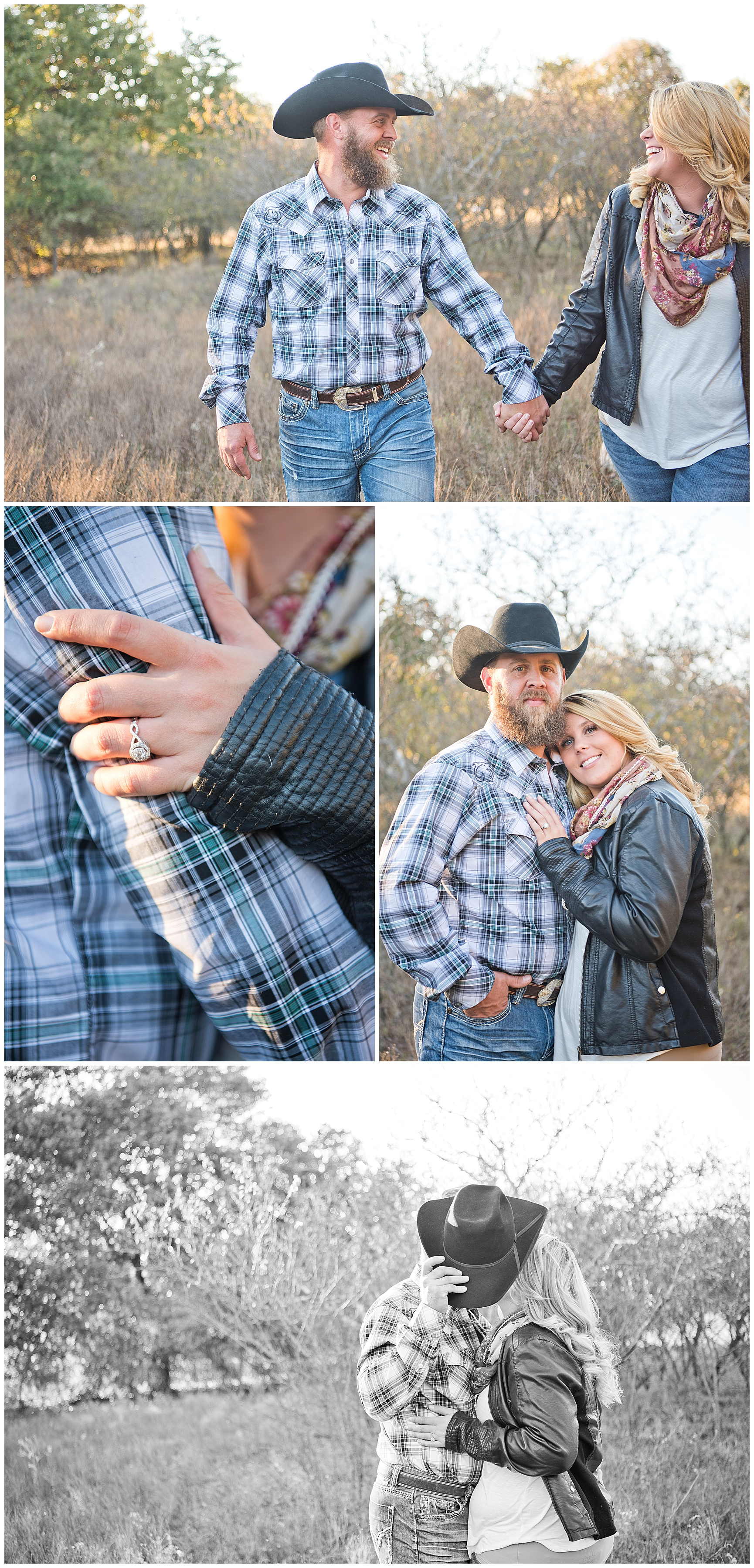 Texas Couples Fall Engagement Session
