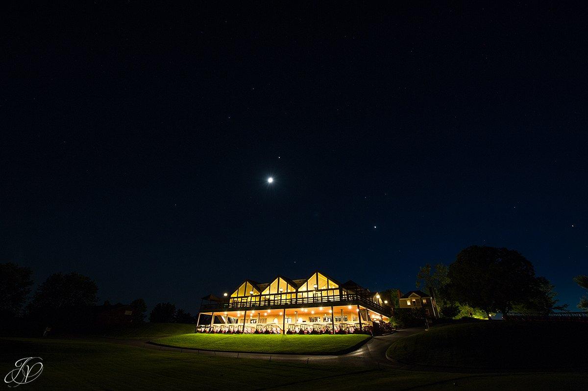 shenandoah valley golf club at night