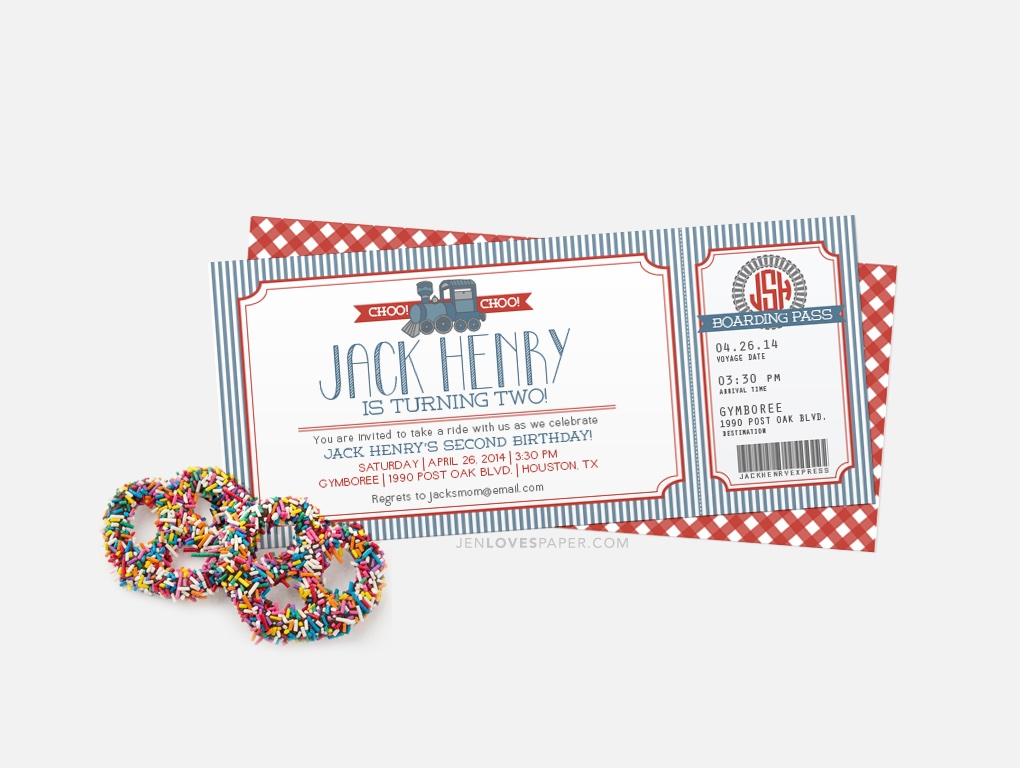 BIRTHDAY INVITES - Jen Loves Paper