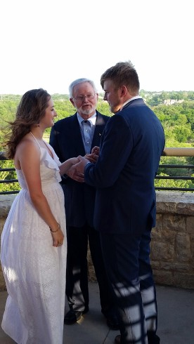 Officiant at Arbor Hills Nature Preserve