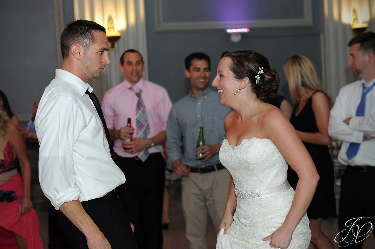 bride dancing at proctors, bride dancing photos, , Schenectady Wedding Photographer, Key Hall Proctors reception