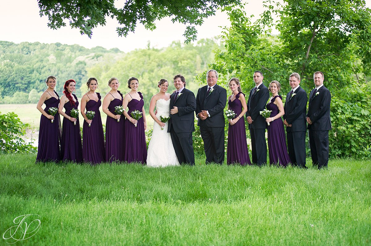 bridal party outdoor photo, bridal party photo, mabee farms historic site, wedding at mabee Farms, Schenectady Wedding Photographer, Key Hall Proctors reception