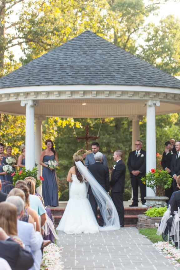 The Saratoga Springs Outdoor Wedding And Recetion Venue Located