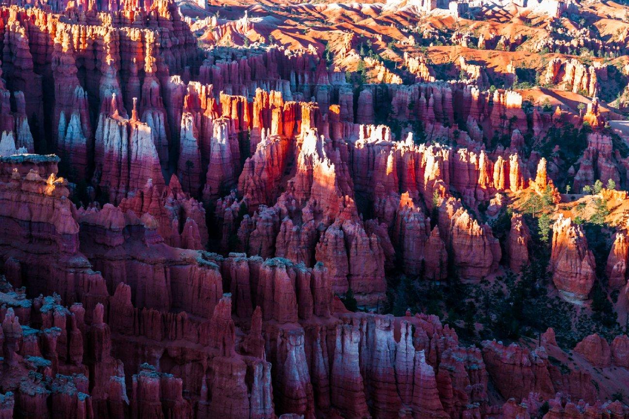 Bryce Canyon, Sunrise at Bryce Canyon, Ron Caimano, Hoodoos, Bryce Canyon Hoodoos