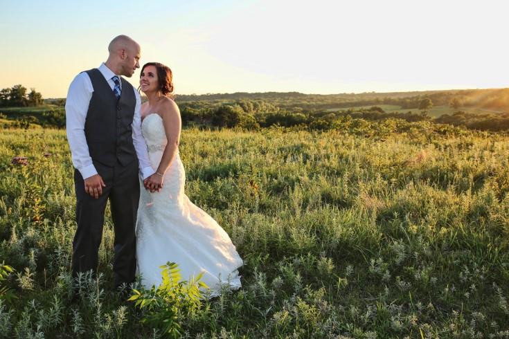 Creative Kansas wedding photographer Kristen Schweitzer