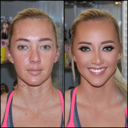 Image result for airbrush before and after