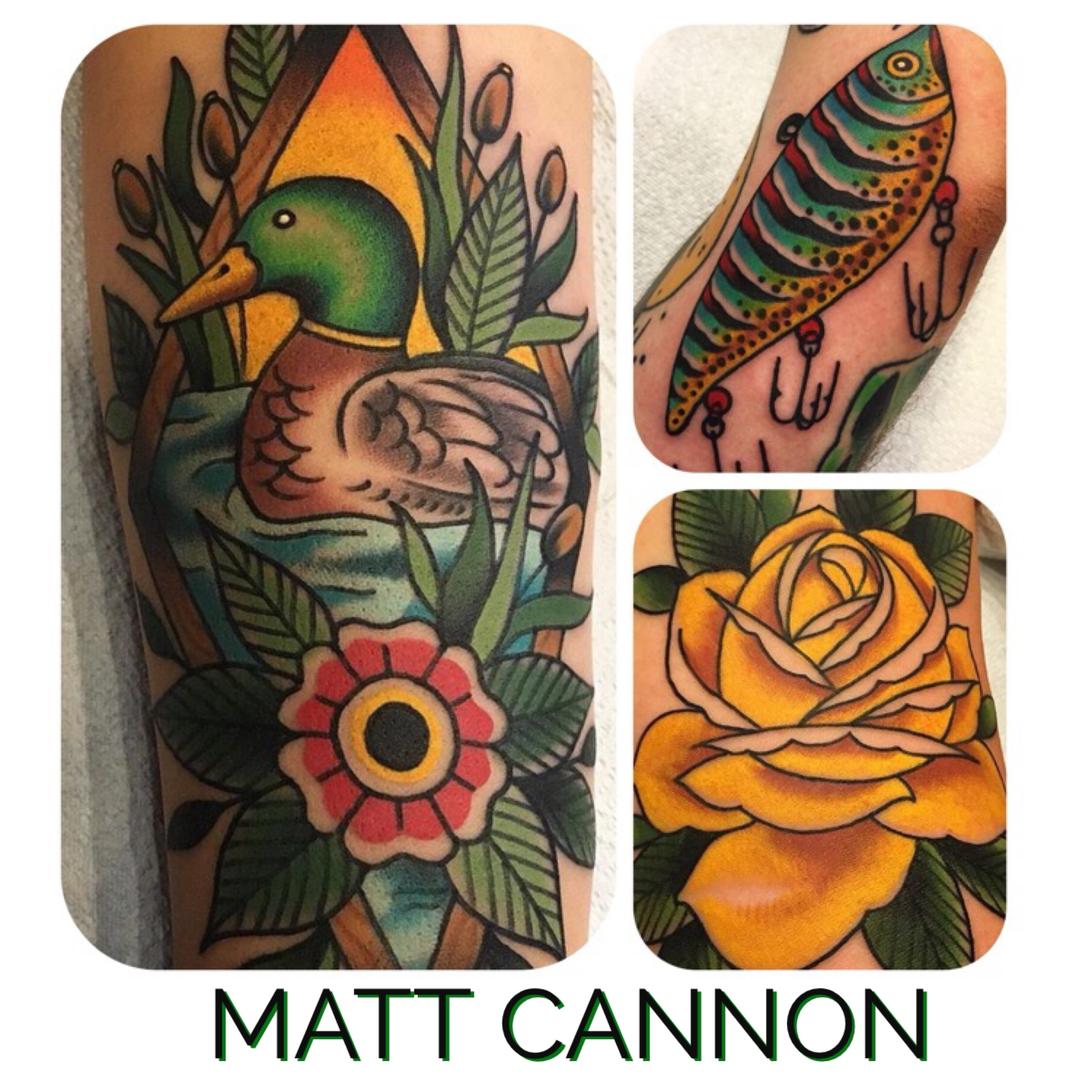 Matt Cannon for Torch Tattoo