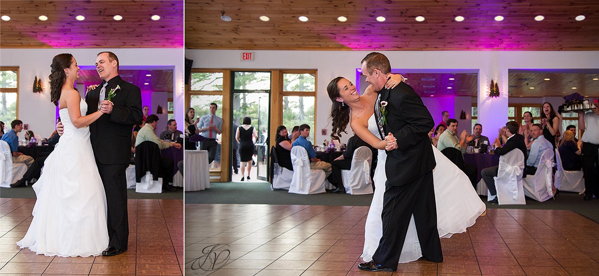 photo of bride dancing with her father