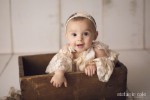 Baby Alex's First Birthday Cakesmash - Fairfield County, CT Photography