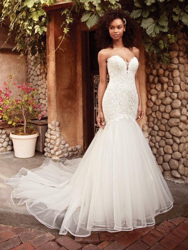 5ddc6387b00 Love Boat Bridal Wedding Dress - Rebecca Ingram ( Maggie Sottero)