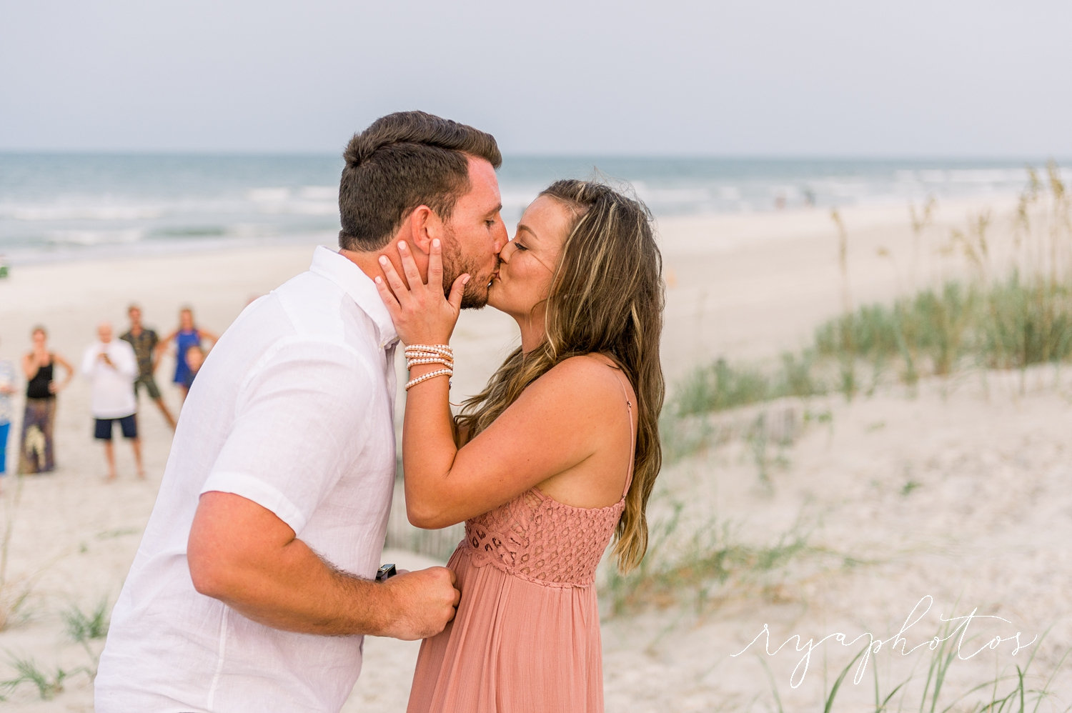 surprise engagement pictures, engagement photography beach, Rya Duncklee