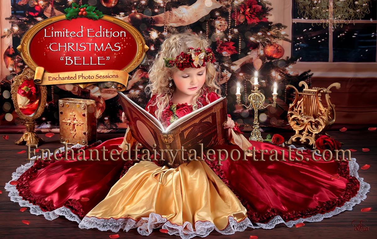 Enchanted Christmas.Enchanted Christmas Dripping Springs Elma Portrait
